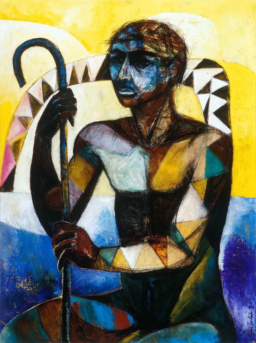 Nimi Furtado | Paintings | Early Works | The Warrior