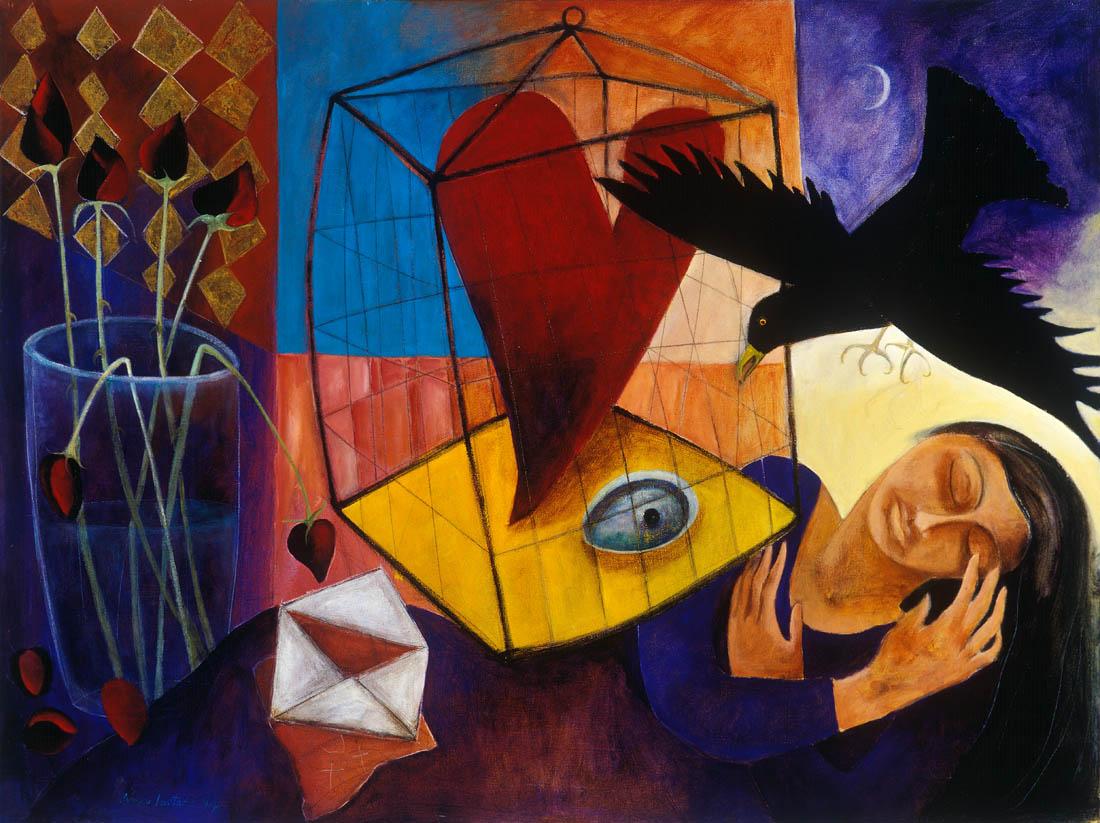 Nimi Furtado | Paintings | Early Works | Black Pearl