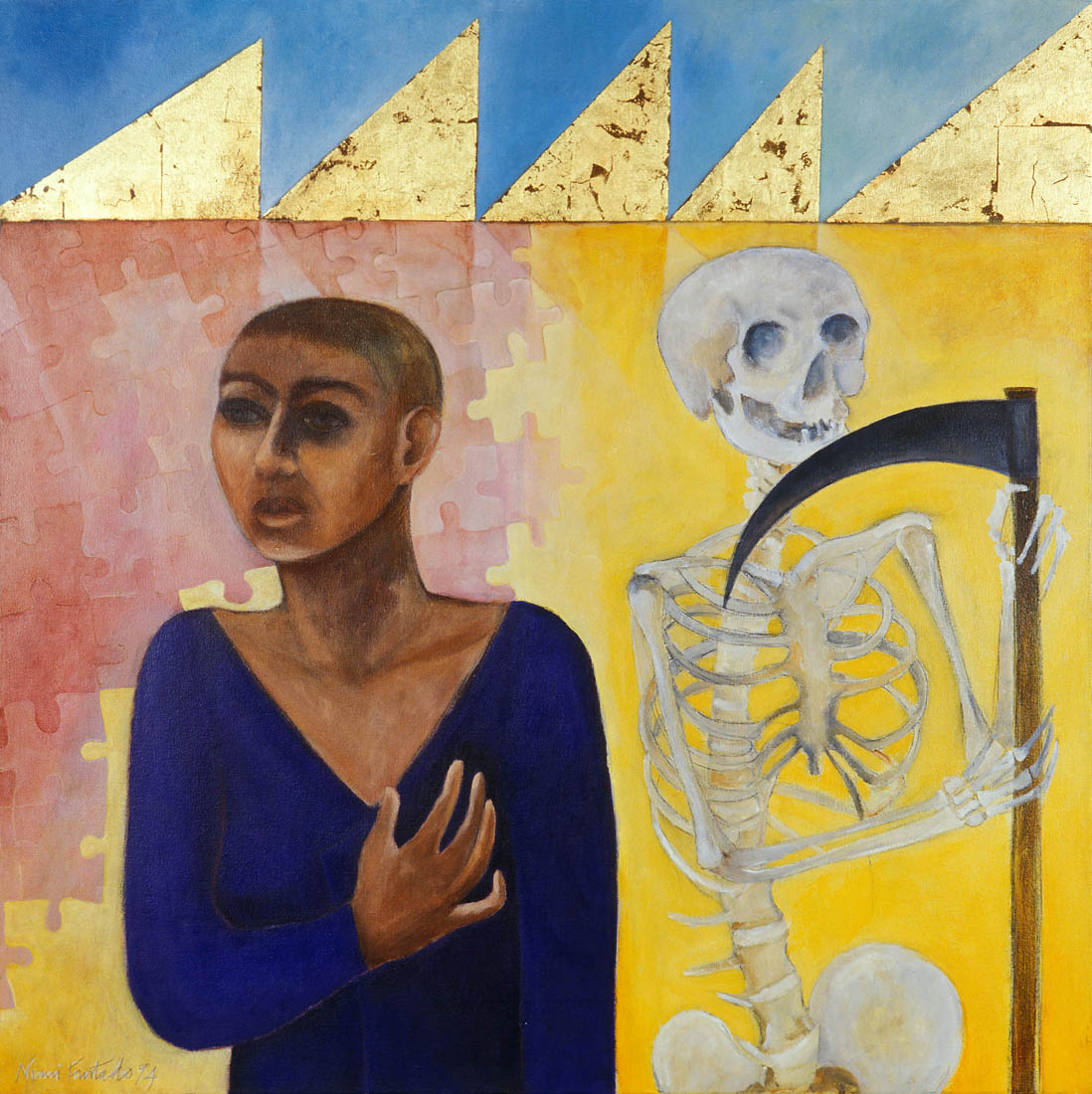 Nimi Furtado | Paintings | Early Works | Ready When You Are
