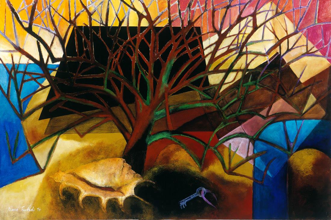 Nimi Furtado | Paintings | Early Works | The Apple Tree