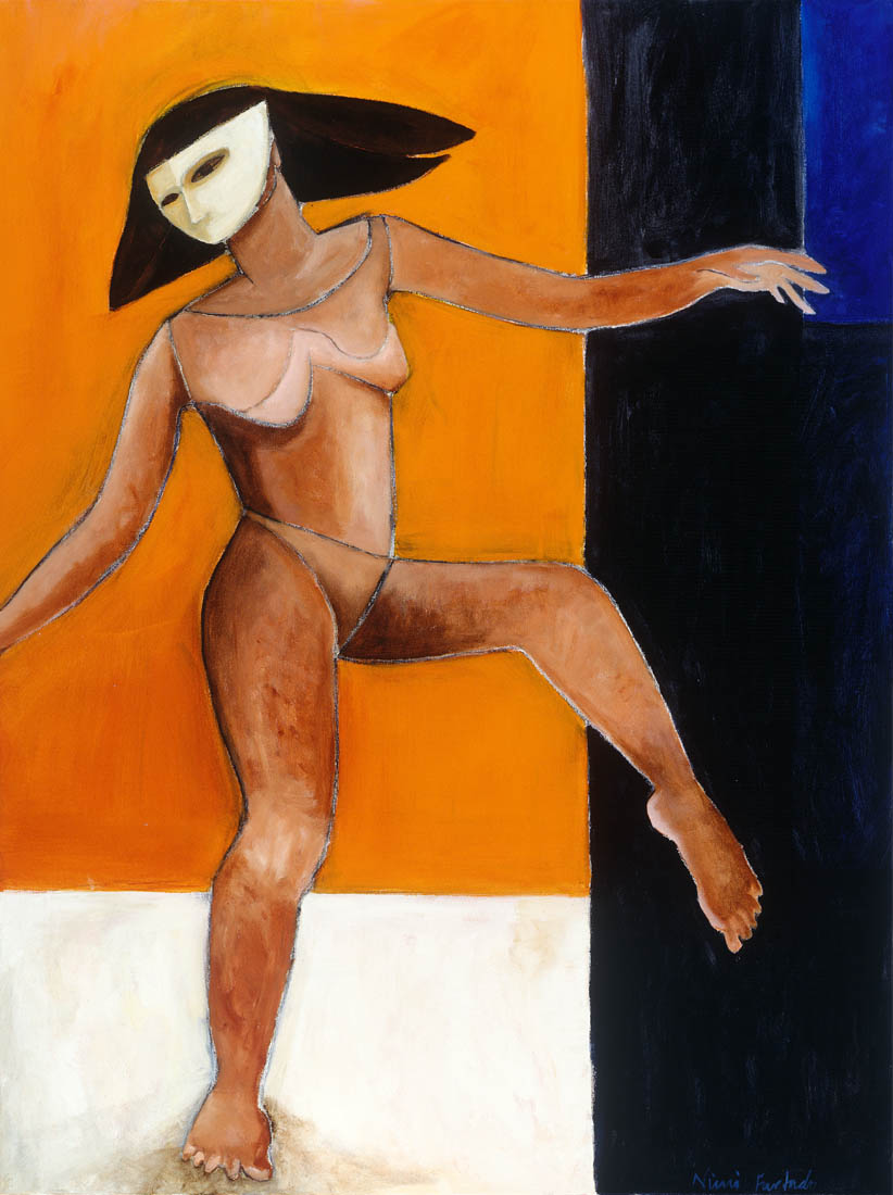Nimi Furtado | Paintings | Early Works | Stepping Out