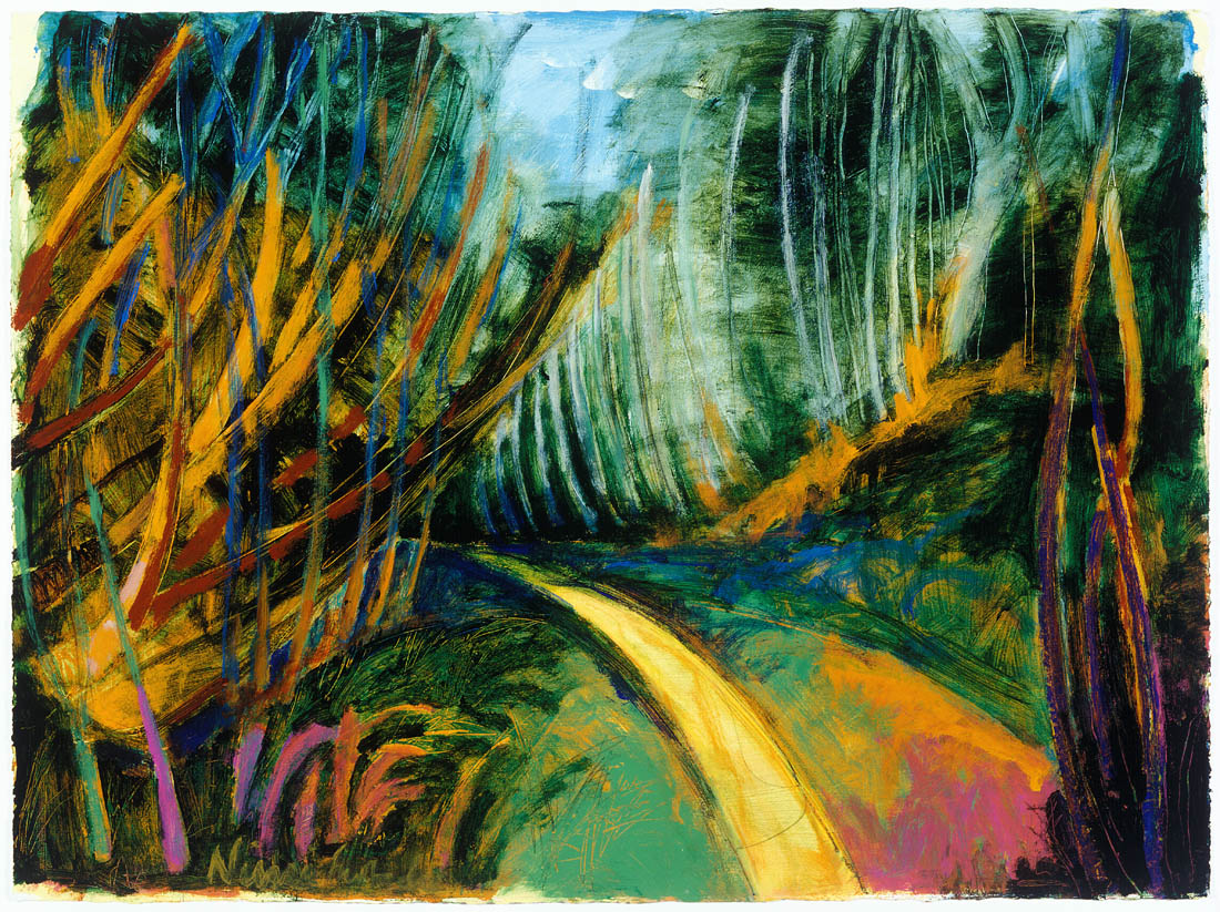 Nimi Furtado   Paintings   Early Works   Tall Trees Walk