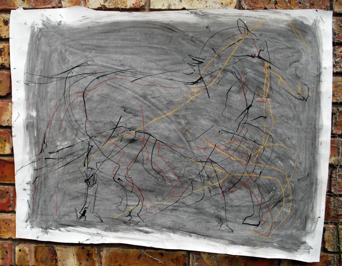 Nimi Furtado | Drawings | Horse
