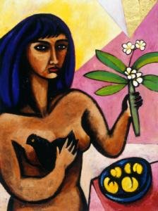 Nimi Furtado | Paintings | Early Works | Bird in Hand