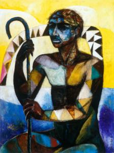Nimi Furtado | Paintings | Early Works | The Warrior