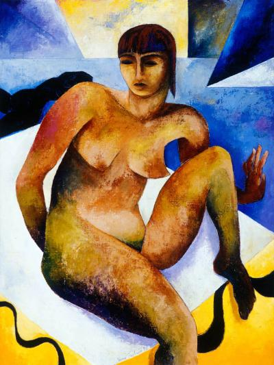 Nimi Furtado | Paintings | Early Works | Some Kind of Blue